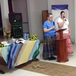 Susan Zencka preaching